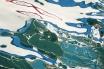 Marbling sea
